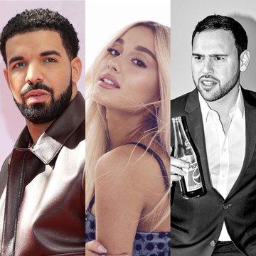 Drake - Ariana Grande - Scooter Braun