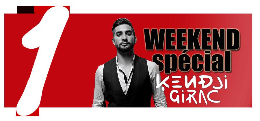 Passez le weekend avec Kendji Girac