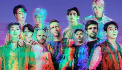 Coldplay annonce sa collaboration avec le boys band sud-coréen BTS